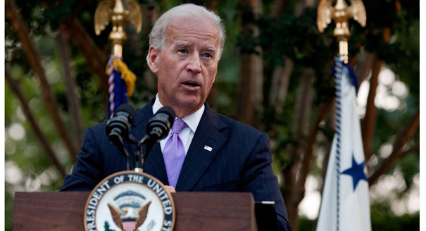 Biden rallies crowds in PA yet still demurs on announcing his run