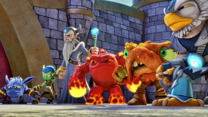 Stars Ashley Tisdale, Harland Williams and Showrunner Eric Rogers welcome us to 'Skylanders Academy'