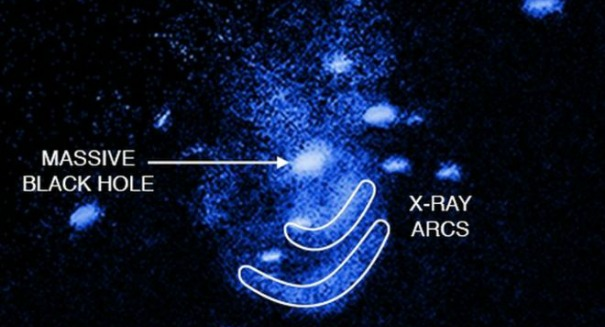 Scientists stunned to find supermassive black hole burping close to Earth