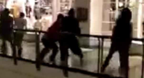 Black Friday: Watch footage of massive brawl at Kentucky mall [VIDEO]