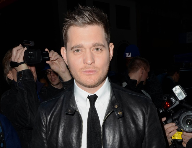 Michael Bublé hopes he doesn't get nominated for a 'BRIT award'
