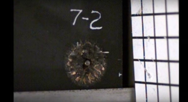 Check out this amazing video of a bullet being obliterated [VIDEO]