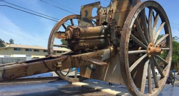 WWI-era cannon stolen in daring theft in California