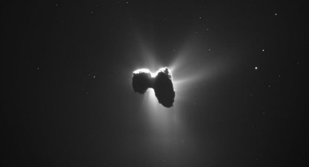 Rosetta is about to crash