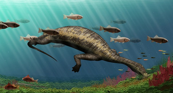 Scientists astonished after discovering massive plant-eating marine dinosaur