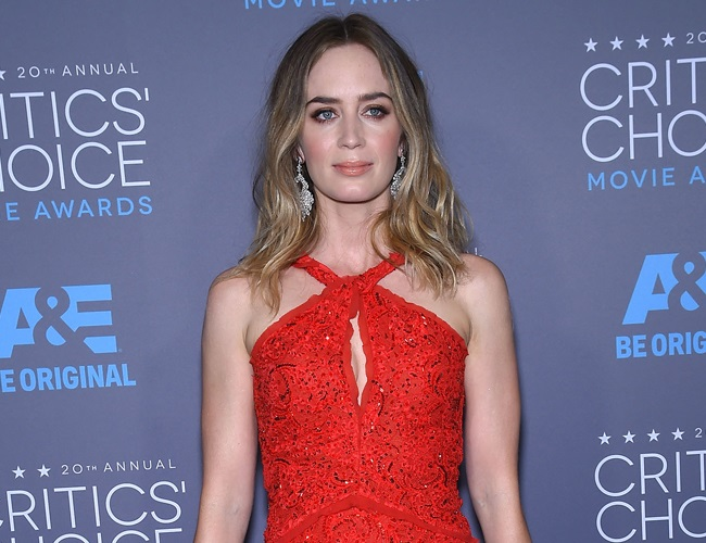 Emily Blunt feels confident and relaxed as a mother