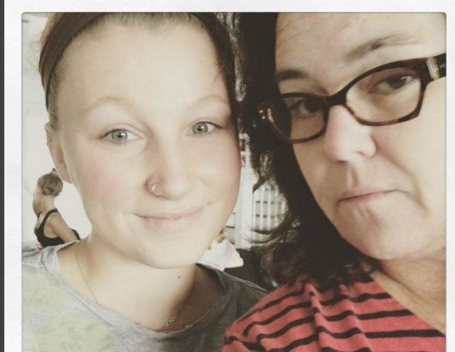 Rosie O'Donnell reunites with estranged daughter