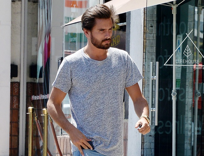 Scott Disick gives parenting advice to Rob Kardashian