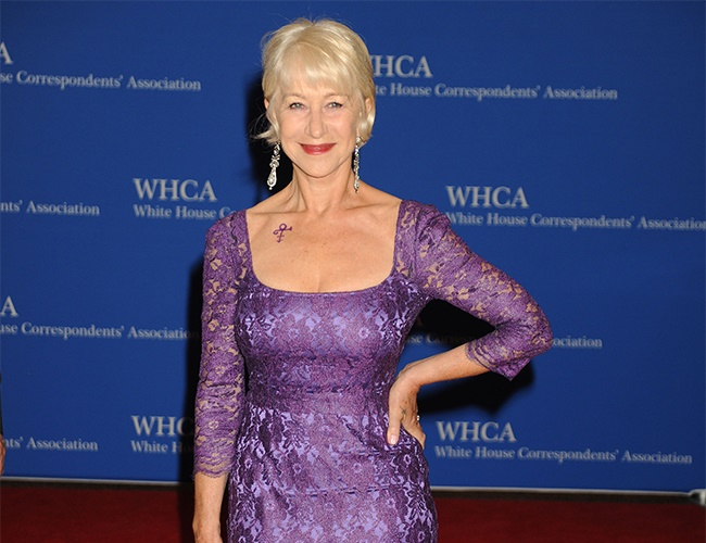 Dame Helen Mirren embraces her mistakes