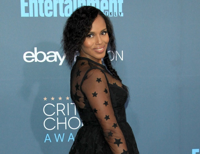 Kerry Washington says motherhood has improved her approach to acting