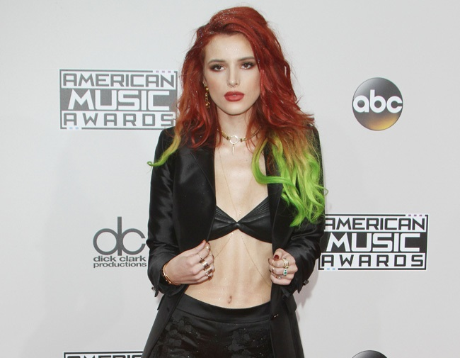 Bella Thorne opens up about acne