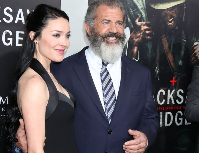 Mel Gibson and Rosalind Ross welcome their first child