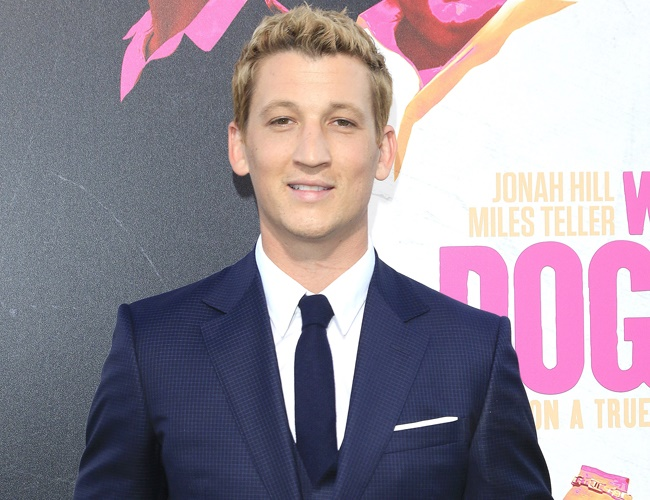 Miles Teller never wanted to be an actor