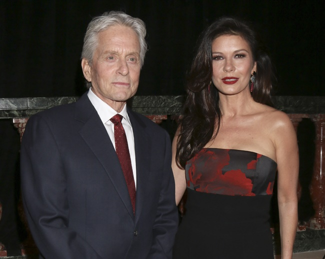 Michael Douglas talks about his first date with Catherine Zeta-Jones