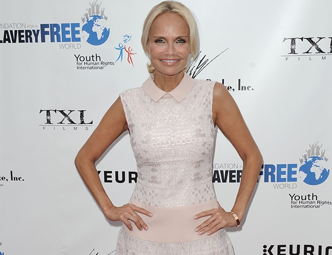 Kristin Chenoweth feels lucky to be adopted