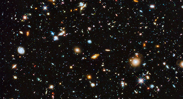 Stunning discovery: Massive baby galaxies surrounded by dark matter