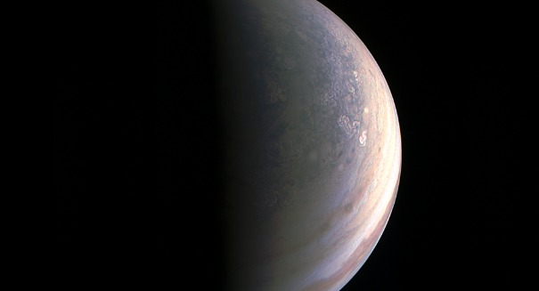 NASA's Juno spacecraft has just captured something incredible