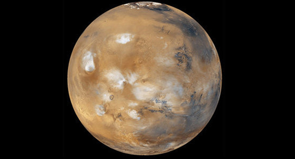 Mars is slowly causing its moon to fall apart
