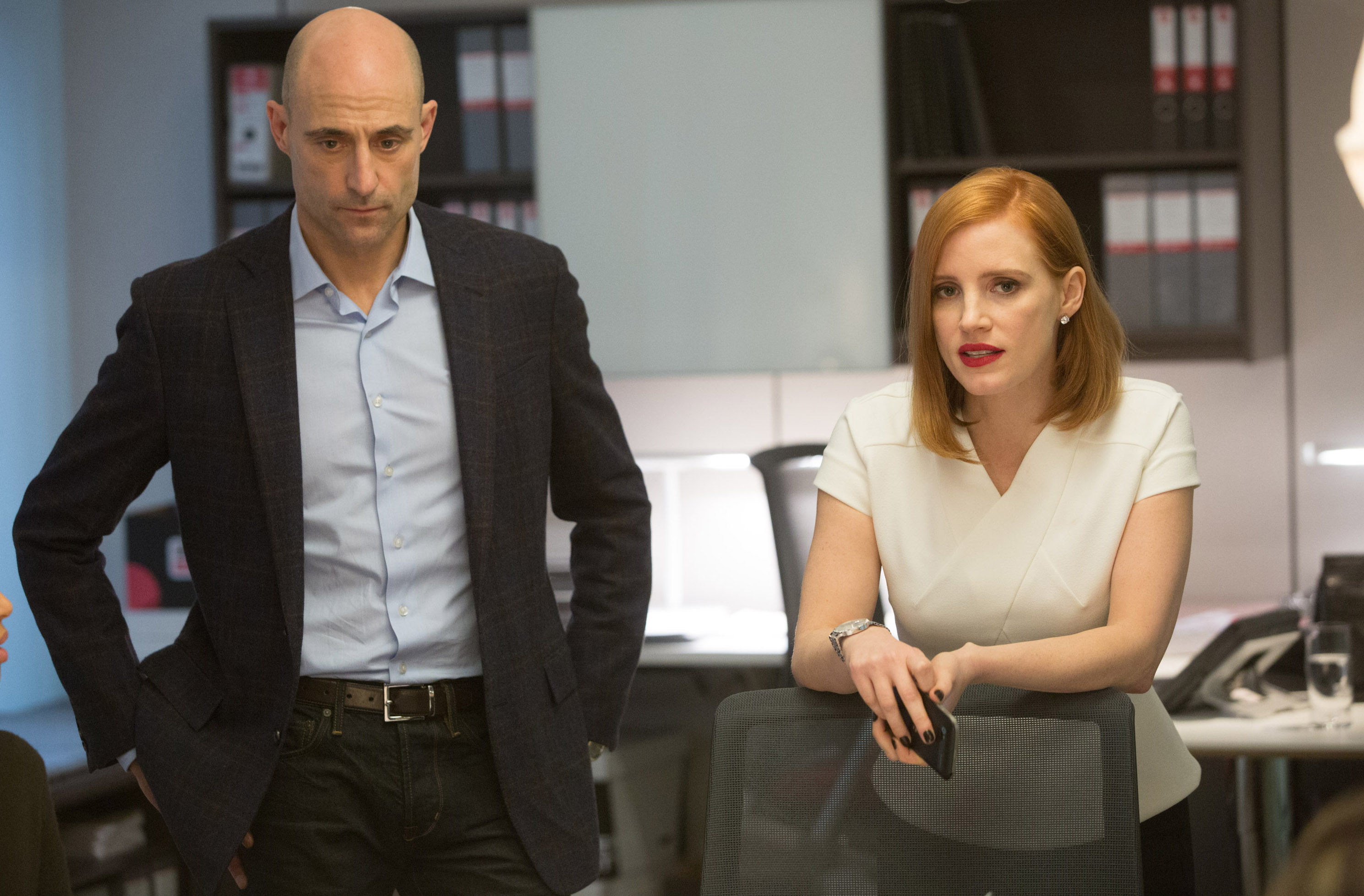 Jessica Chastain's 'Miss Sloane' has some 'tricks up her sleeve'