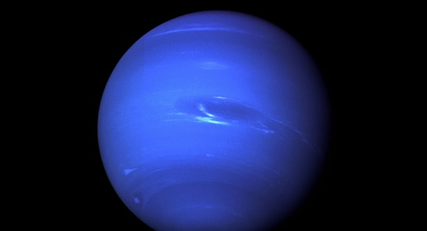 Hubble captures Neptunes mysterious shrinking storm