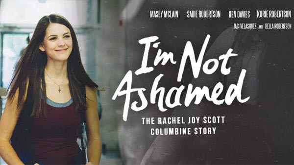 Rachel Joy Scott's story in 'I'm Not Ashamed' is a message of hope