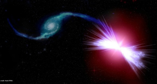 Scientists astonished by powerful 'red geyser' galaxy