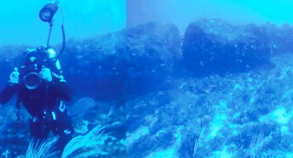 Stunning find: Underwater 'Stonehenge' off the coast of Sicily