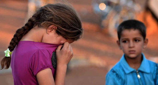 Reports: Syrian children desperately need humanitarian aid