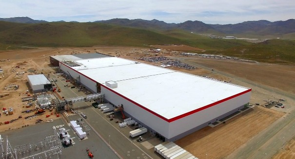 Tesla Unveils Astonishing 'Gigafactory'