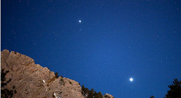 [VIDEO] Watch stunning footage of Mars, Jupiter, Venus, and the Moon lining up perfectly