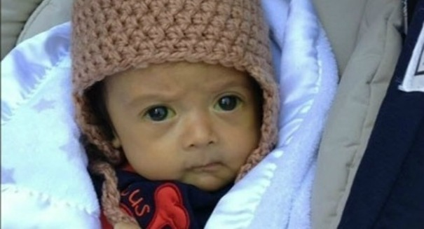 Astonishing Christmas miracle for 5-month-old baby