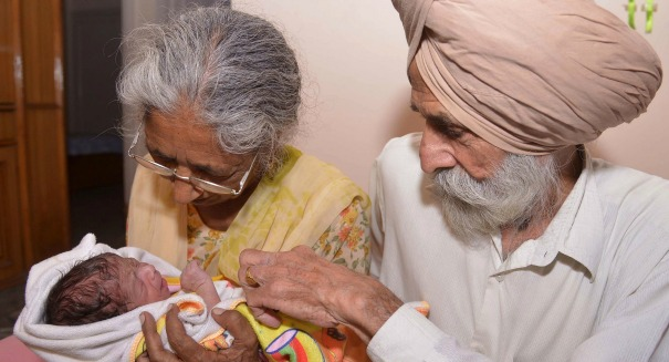Shocking report: 72-year-old woman gives birth