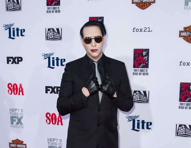 Marilyn Manson speaks up for Johnny Depp