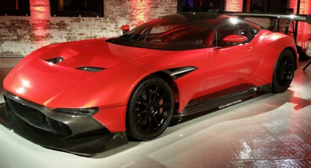 You won't believe how much this Aston Martin Vulcan costs