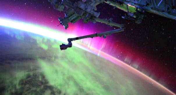 NASA astronaut shares stunning video of aurora borealis