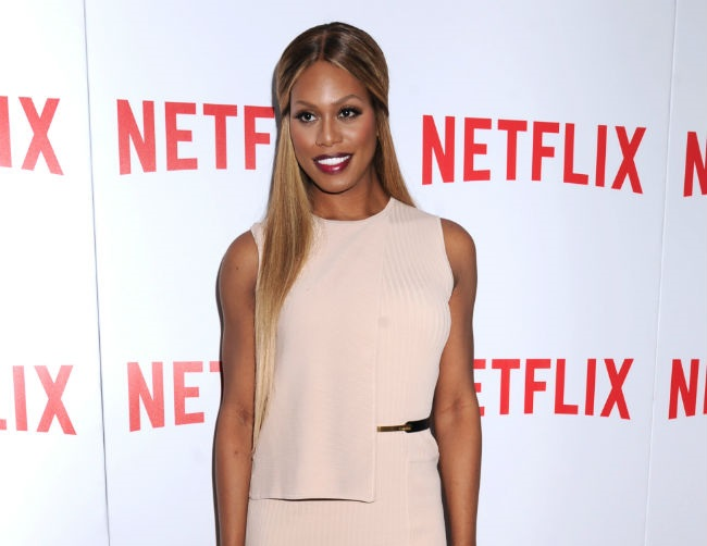Laverne Cox looks up to Beyoncé