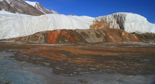 Scientists crack bizarre 'blood' mystery in Antarctica