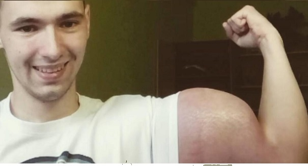 Russian bodybuilder just did something absolutely horrifying