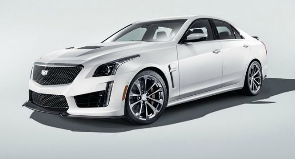 Cadillac's new all-American CTS-V muscle sedan to take on the Germans