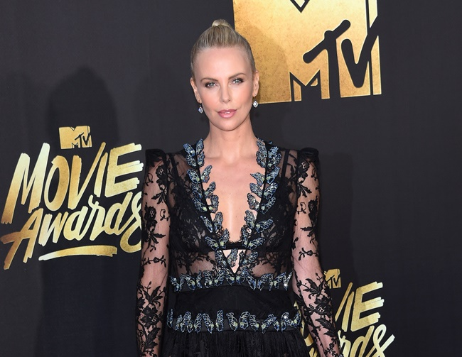 Charlize Theron helps raise HIV awareness
