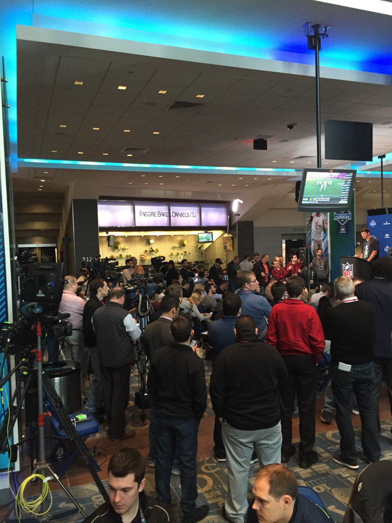 Welcome to the NFL Combine: The greatest charade on earth