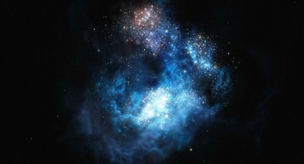 Superbright galaxy home to the universe's oldest known stars