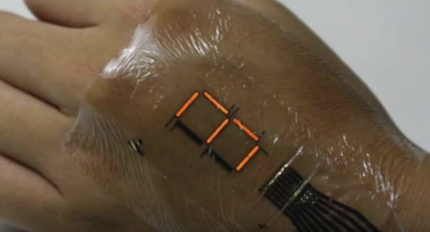 Incredible discovery: Futuristic 'e-skin' could change medicine [VIDEO]