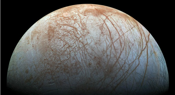 Stunning discovery on Jupiter's mysterious moon Europa