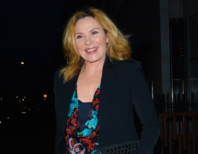 Kim Cattrall is concerned about Alzheimer's disease