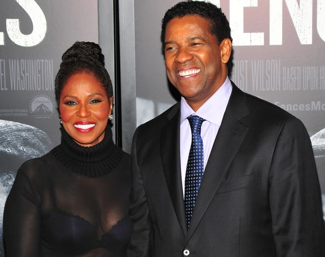 Denzel Washington on marriage and his latest film project