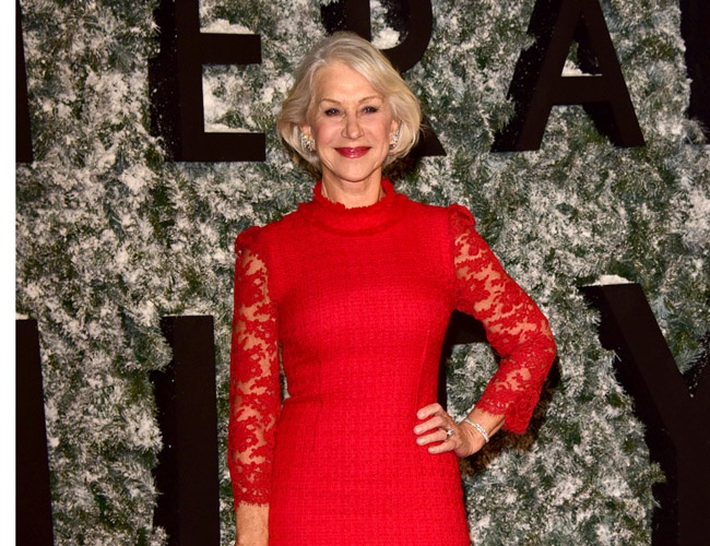 Dame Helen Mirren reflects on a tragic year 2016