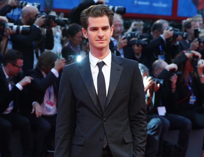 Andrew Garfield slams Donald Trump