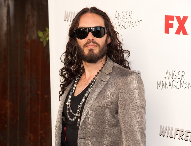 "Russell Brand finds pornographic material ""disturbing"""