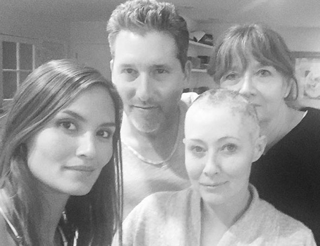 Shannen Doherty's chemotherapy treatment is almost finished